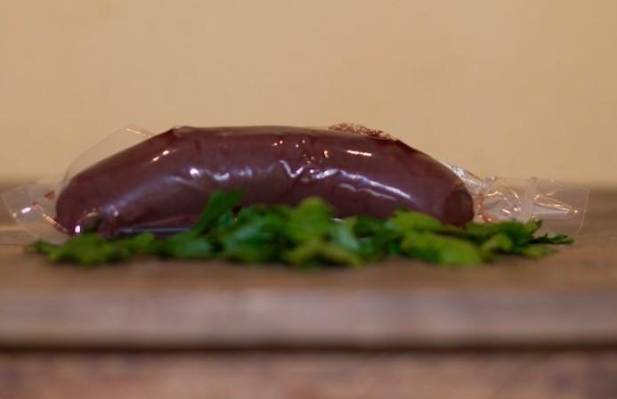 Boudin au foie gras