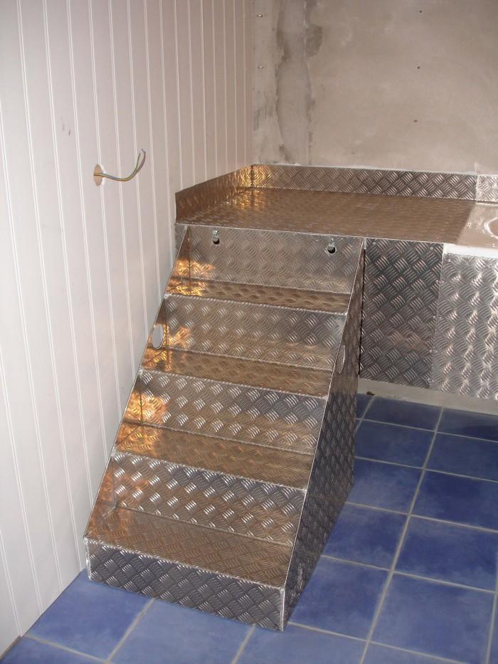 Salle de bain pour animaux
