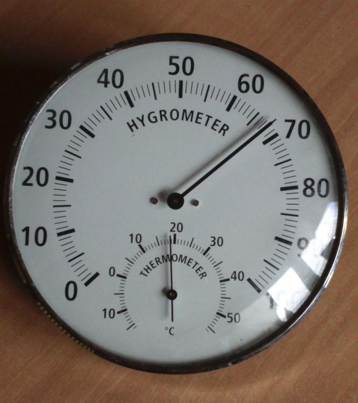 Hydromètre - Thermomètre  de Cave