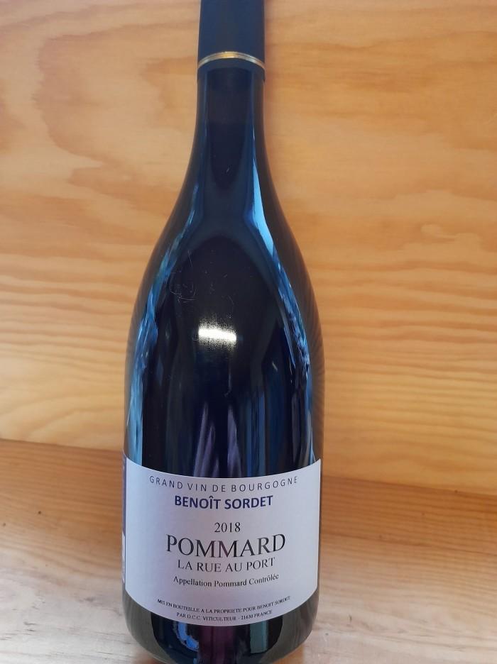 "Pommard ""La Rue au Port"" Domaine Sordet"