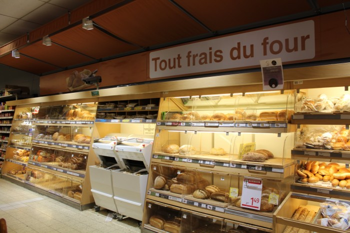 Rayon boulangerie