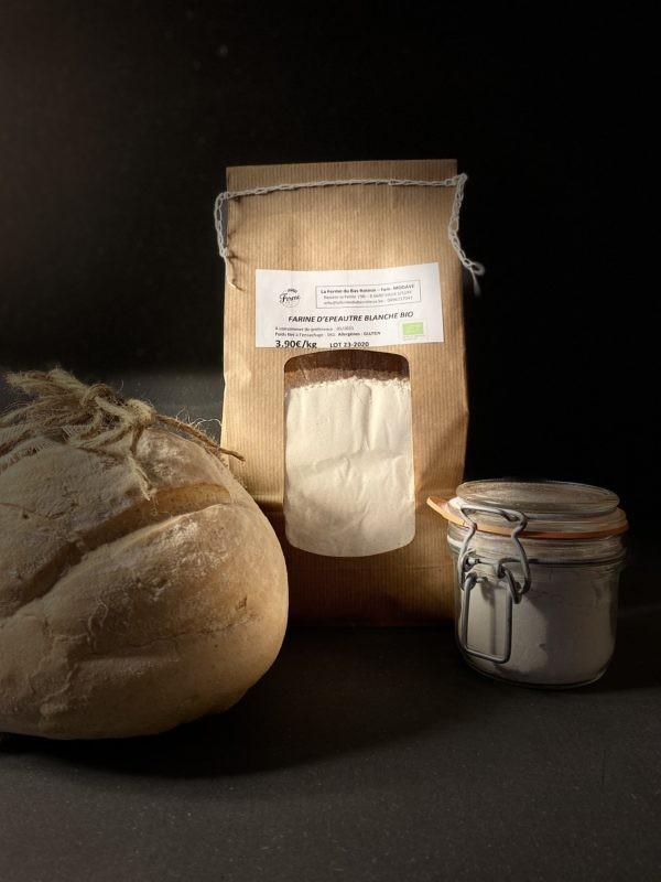 Farine d'épeautre blanche BIO 1kg et 3kg