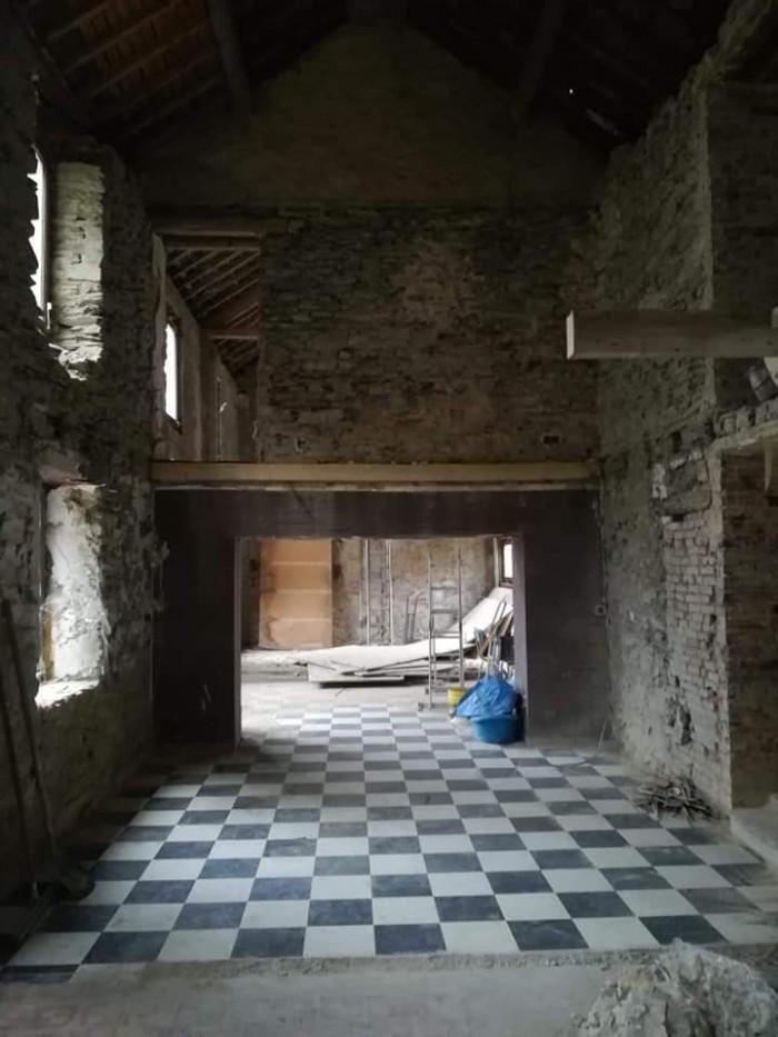 Avant - Plafonnage intérieur