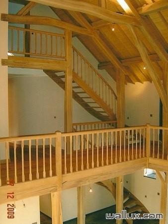 Escalier et balcon sur mesure