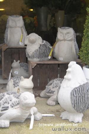 Animaux en béton Statues en béton