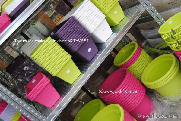 Jardinières et pots de couleur Artevasi