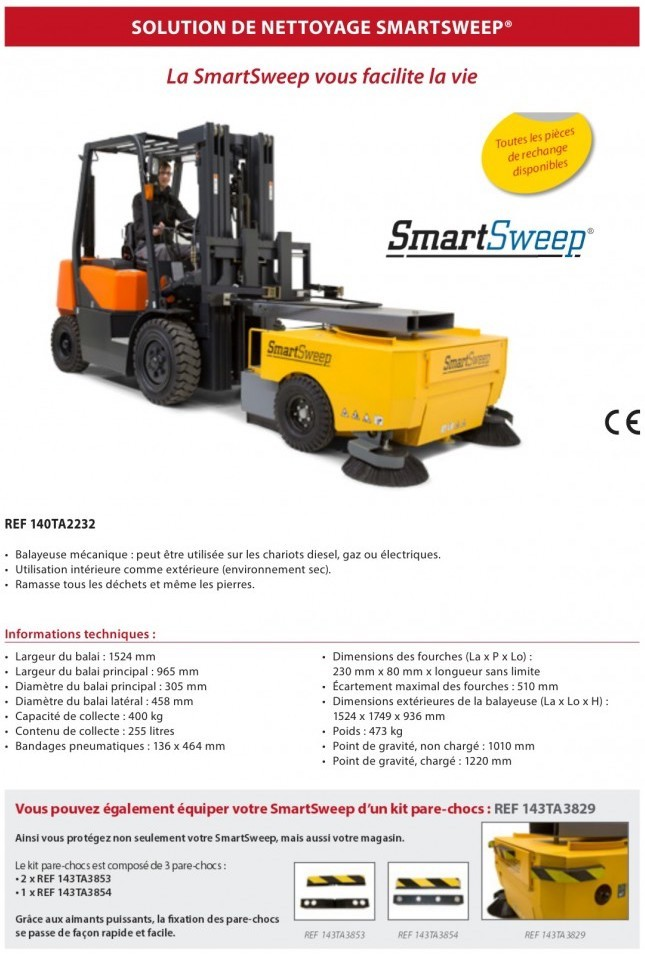 Smartsweep - Balayeuse - 1